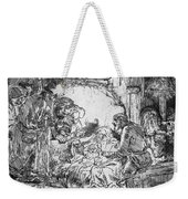 Nativity Weekender Tote Bag by Rembrandt