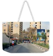 Nativity Street Weekender Tote Bag