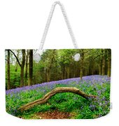 Natural Arch And Bluebells Weekender Tote Bag