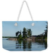 Natural Breakwater Weekender Tote Bag