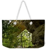 Natural Bridge Arch Weekender Tote Bag