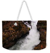 Natural Bridge Gorge Weekender Tote Bag