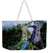 Natural Bridge In Virginia Weekender Tote Bag