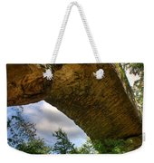 Natural Bridge Span Weekender Tote Bag