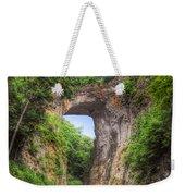 Natural Bridge - Virginia Landmark Weekender Tote Bag