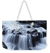 Natural Bridges Falls 02 Weekender Tote Bag