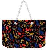Natural Floral Pattern Weekender Tote Bag