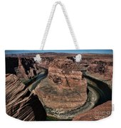 Natural Horseshoe Bend Arizona  Weekender Tote Bag