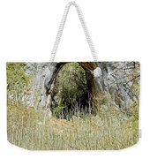 Natural Limestone Arch At Dove Valley Weekender Tote Bag