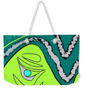 Natural Pearl Weekender Tote Bag