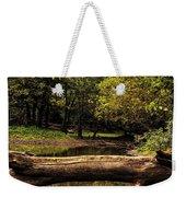 Natural Seating By River Weekender Tote Bag