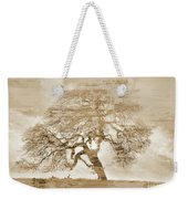 Natural Tree Weekender Tote Bag