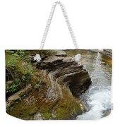 Natural Waterslide Weekender Tote Bag