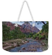 Morning Hike Weekender Tote Bag
