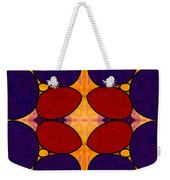 Naturally Dimensional Abstract Bliss Art By Omashte Weekender Tote Bag