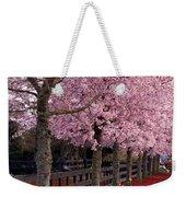 Nature - Pink Trees Weekender Tote Bag