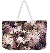 Nature Abstract In Pink And Brown Weekender Tote Bag