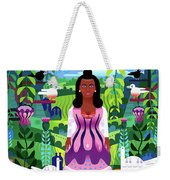 Nature Abstract Weekender Tote Bag