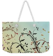 Nature Branches Weekender Tote Bag