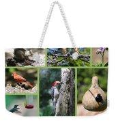 Nature Collage Weekender Tote Bag
