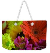 Nature Colorful Bouquet Weekender Tote Bag