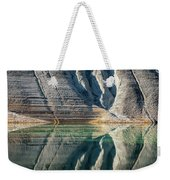 Nature Colorful Water Abstract Weekender Tote Bag