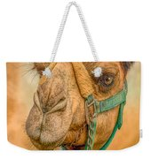 Nature Girl Camel Weekender Tote Bag