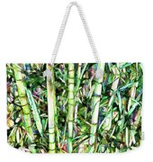 Nature Green Background Weekender Tote Bag