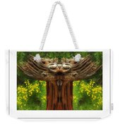 Nature In Abstract 4 Poster Weekender Tote Bag