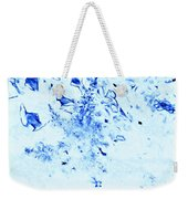 Nature In Blue Weekender Tote Bag