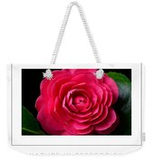 Nature In Perfection Poster Weekender Tote Bag
