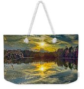 Nature Landscapes Around Lake Wylie South Carolina Weekender Tote Bag
