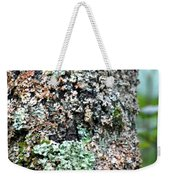 Nature Painted Tree Bark Weekender Tote Bag