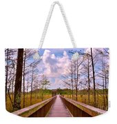 Nature Path Weekender Tote Bag