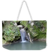 Nature Spring Scene Creek Weekender Tote Bag