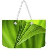 Nature Unfurls Weekender Tote Bag