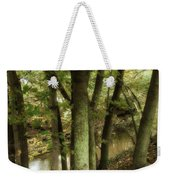 Nature Walk Along The Stream Weekender Tote Bag