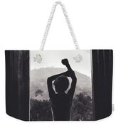 Nature Window. Weekender Tote Bag