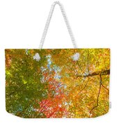 Natures Canopy Of Color Weekender Tote Bag