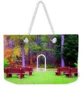 Nature's Chapel  Weekender Tote Bag