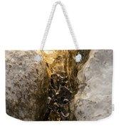 Natures Creativity - Golden Crevasse Weekender Tote Bag