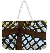 Nature's Cross Weekender Tote Bag
