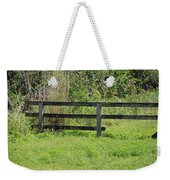 Natures Fence Weekender Tote Bag