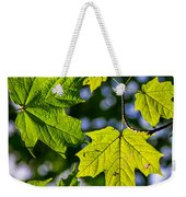 Natures Going Green Design Weekender Tote Bag
