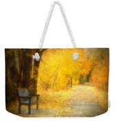 Nature's Golden Corridor Weekender Tote Bag