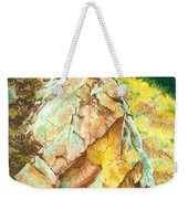 Nature's Granite Sculpture Weekender Tote Bag