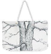Nature's Lines Weekender Tote Bag