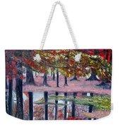 Natures Painting Weekender Tote Bag