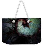 Nature's Rex Begonia Weekender Tote Bag