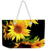 Natures Sunflower Bouquet Weekender Tote Bag